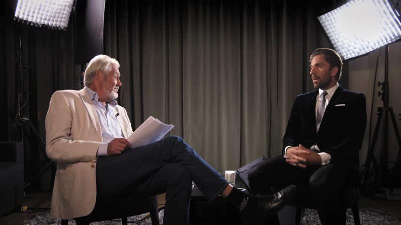 Henrik Lundqvist och Christer Ulfbåge