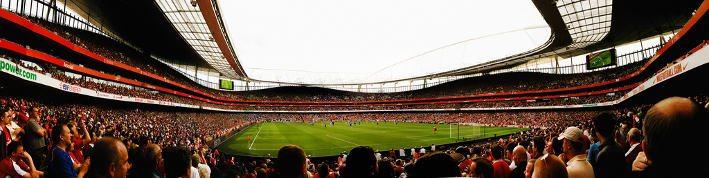 arsenal vs Chelsea panorama