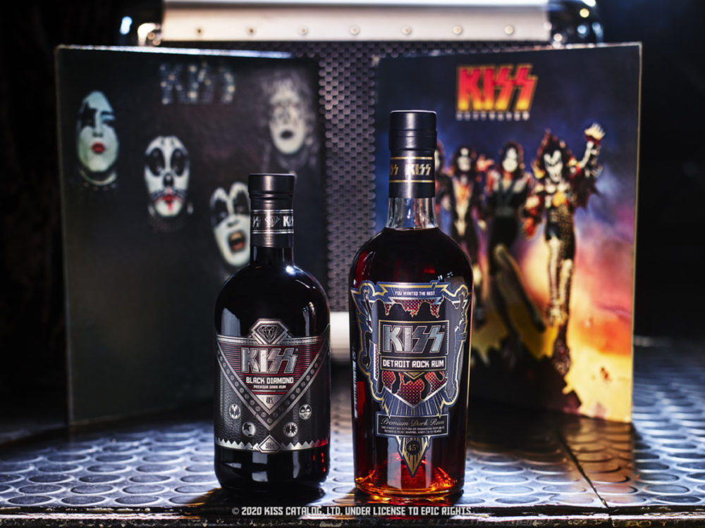 kiss detroit rock rum limited